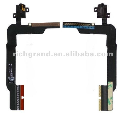 Earphone Jack Audio Flex Ribbon Cable for the new iPad 3rd Generation
