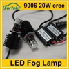 high power 20w cree car led fog lamp with reflector 9006 (hb4)