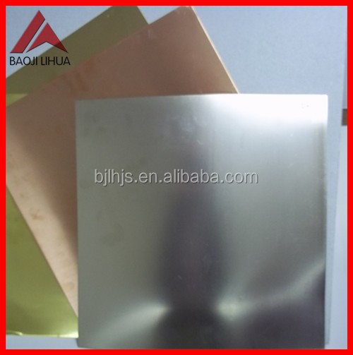 Ti-Ni Titanium clad copper sheet with Thickness 0.8mm