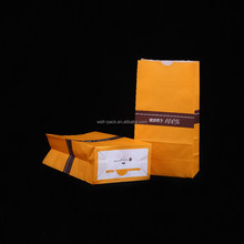 china supplier high quality cheap kraft paper bags food grade for snacks packing