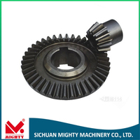Brass spur watch gear customized precise cnc machining internal gear/motor parts/car spare parts