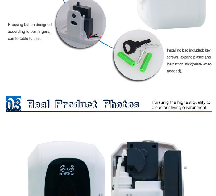 wall mounted hand sanitizer dispenser automatic