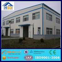 china low cost prefabricated high rise steel structure building