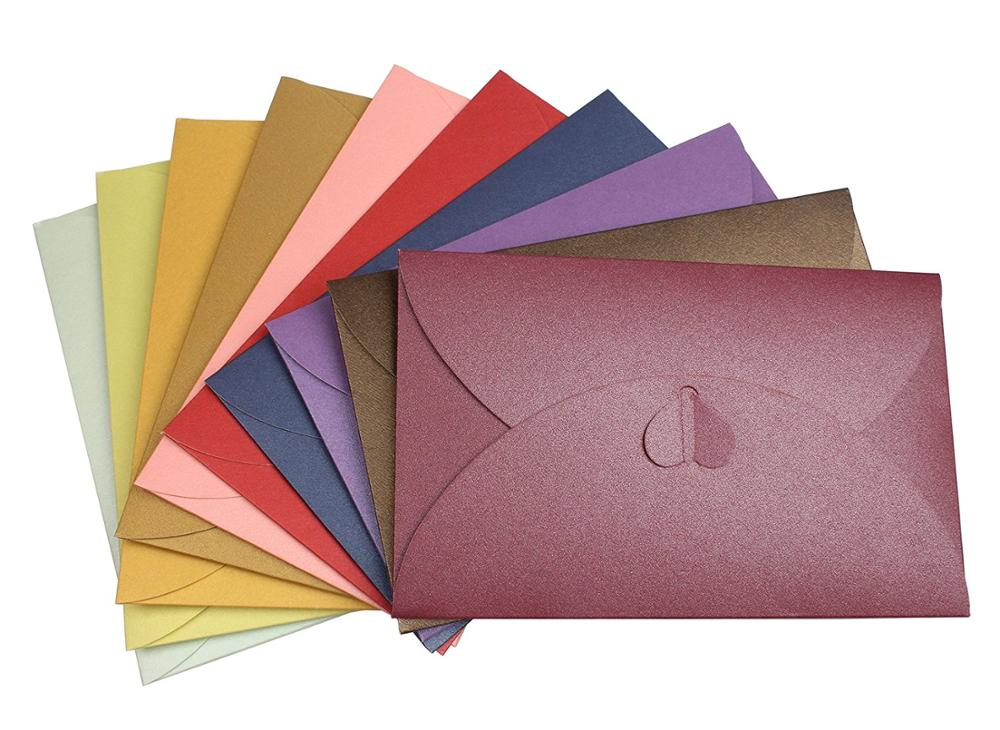 Cheap Custom Wholesale Bulk Multiple Style Mini Packaging Paper Envelope