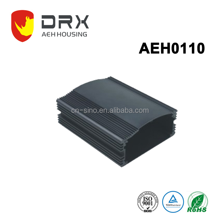 Device remote control aluminum cases customized mounting wall exist Aluminum extrusion enclosure made in Zhejiang China