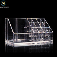Customized Clear Acrylic Cosmetic Display Holder Popular Pen Acrylic Display Stand Promotion Acrylic Disply Case