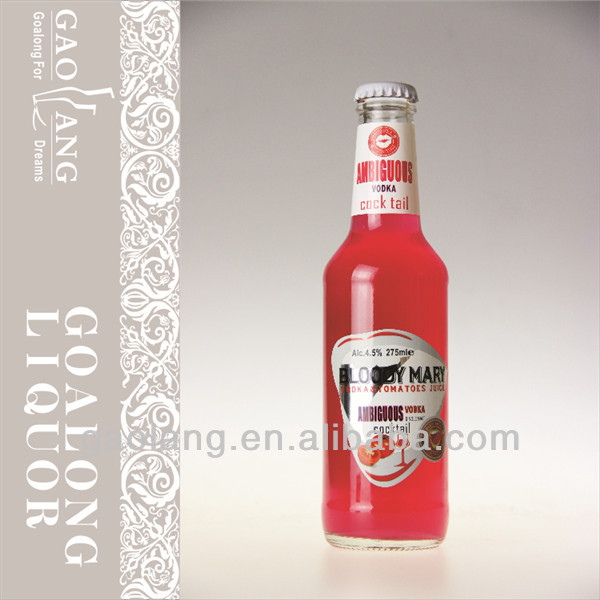 China factory supply alcoholic mixed drink for overseas buyers