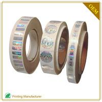Custom Top Sale 3D Eur Hologram Sticker In Printing Labels
