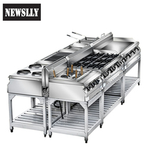 Commercial High Efficiency Good Industrial Design Fast Food Restaurant Equipment kitchen