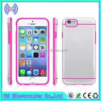 sublimation for iphone case, New Ultra Thin Transparent Crystal Clear TPU Case Cover for iPhone 6 Mix color