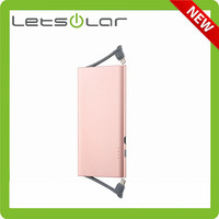 5000mAh Ultra slim metal portable power bank for iPhone 6 & smartphone
