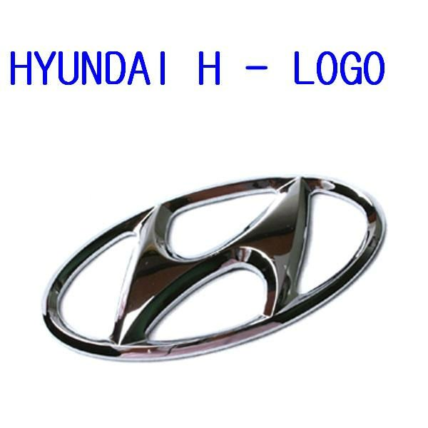 100% Genuine BrandNew H- Logo Front & Trunk Emblem (Fits Hyundai Vehicle)