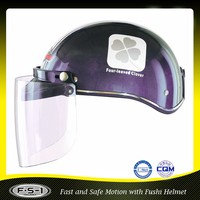 ABS material ECE approved shoei electric motorbike half face helmet with PC visor