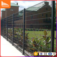 Professional manufacture double welded double circle fence small fences for gardens