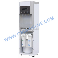 Filtered bottleless water cooler dispenser with 3.2G pressure tank