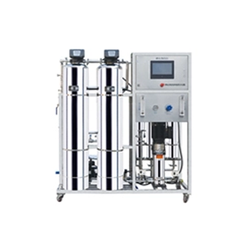 borehole water purification machine reverse osmosis system 1T/H for Hospital, Chemical Industry