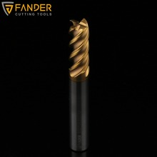 FM0810D100 Milling Tools Galvanized iron End Mill