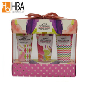TRIZ wholesale body lotion shower gel oem gift sets beauty bath