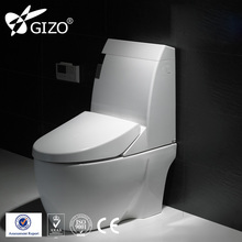 Economic one piece siphonic toilet home toilet for bathroom