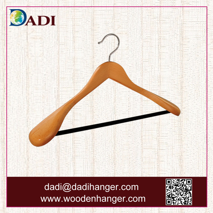 Dadi wooden coat hanger for lady