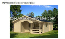timber house;solid wood house;prefab house