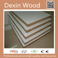 high gloss white melamine MDF board