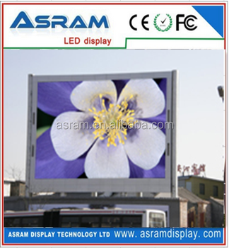 p10 outdoor led display panel, high brightness P10 full color message AD digital outdoor led display panel