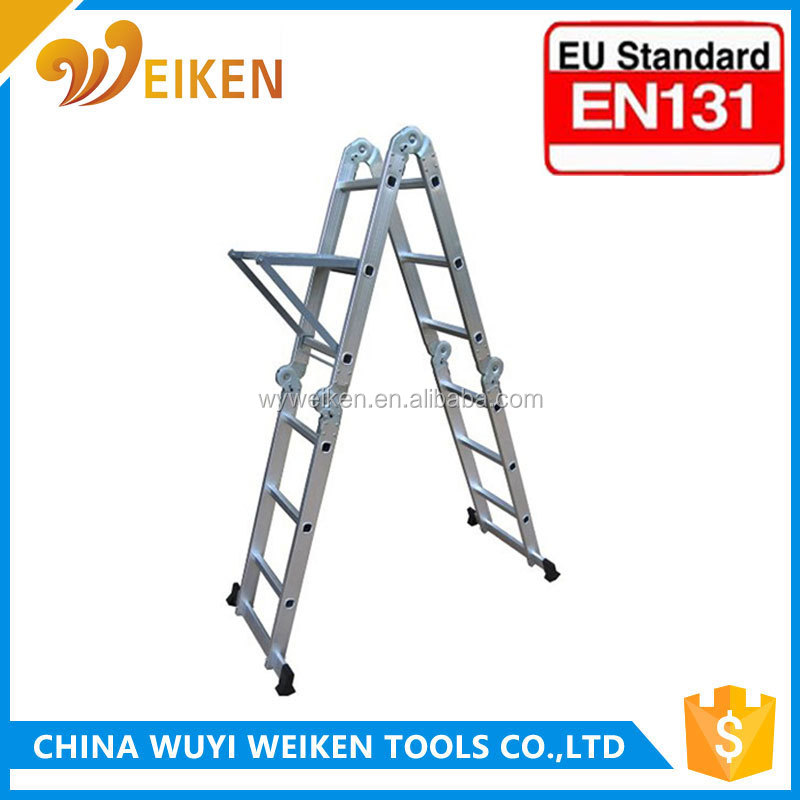 3.7m aluminium multi-purpose telescopic ladder
