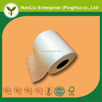Raw Material Viscose/Polyester Embossed Spunlace Nonwoven Fabric for Wet Wipes