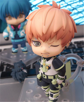 Gzltf New Hot Sale PVC 10 cm DRAMAtical Murder Q Ver 487# Noiz action figure