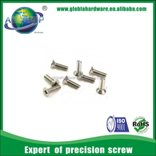 China Fastener Screw Manufacturer Philip Cross Countersunk Eyewear Screws