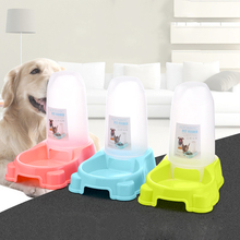 New Eco-Friendly Water Feeder Blue Green Pink Auto Dog Feeder Durable Dog Cat Bowl Detachable Pet Feeders