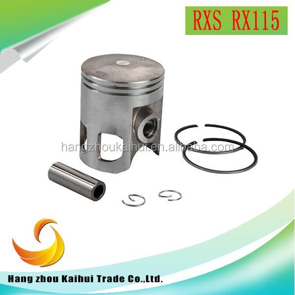 High quality whole sale motorcycle parts RXS RX115 piston kits