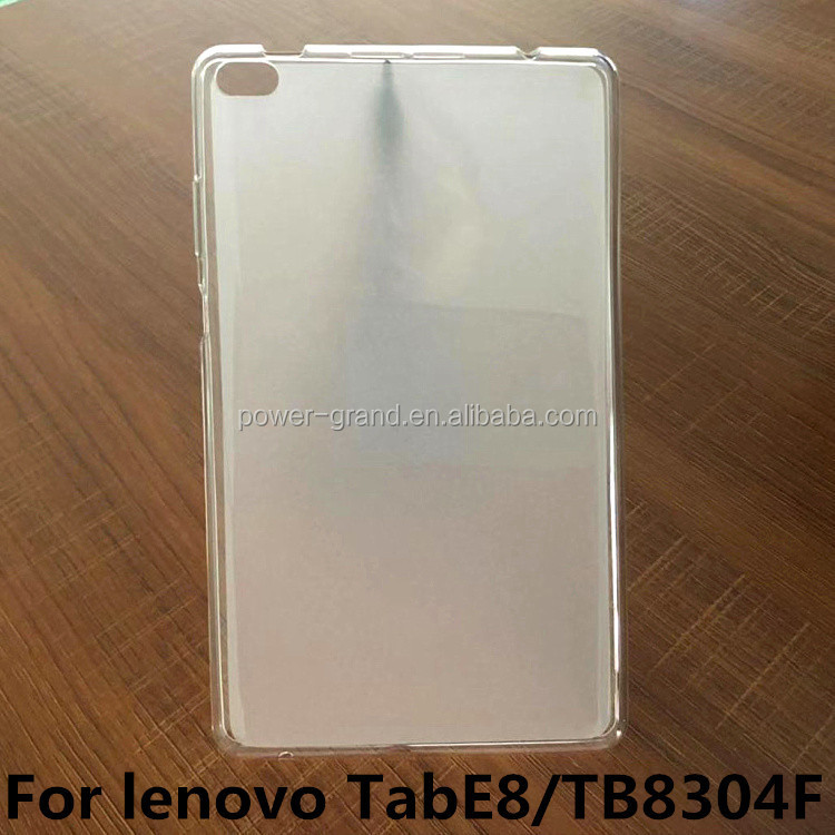 Soft Frosted Matte Pudding TPU case cover for Lenovo Tab E8 TB8304F