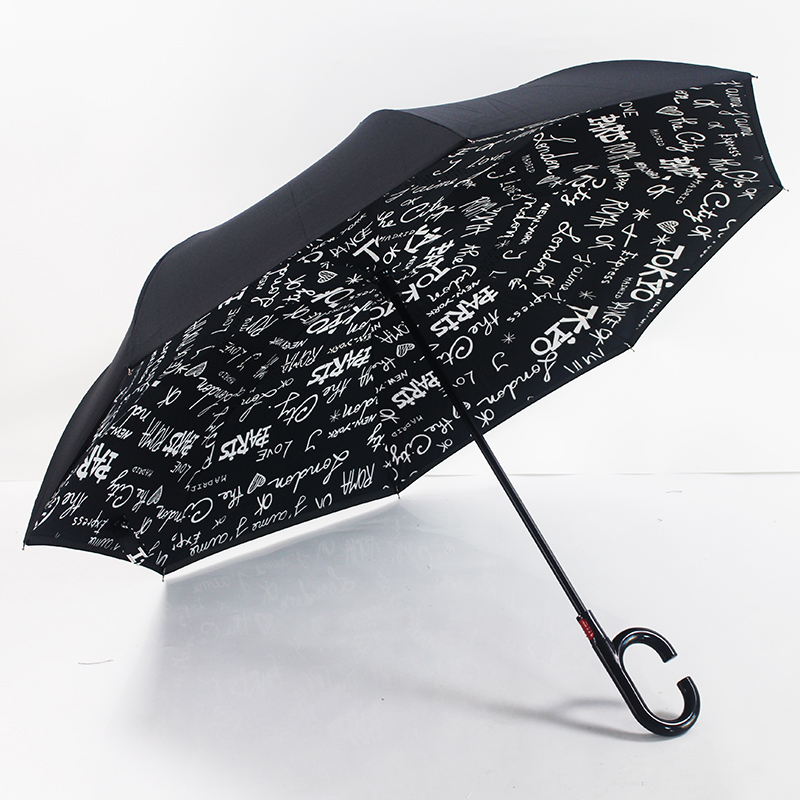 unique small umbrellas inverted automatic reverse umbrella