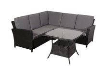 Best selling AWRF9811A outdoor rattan furniture sofa dinning from China supplier