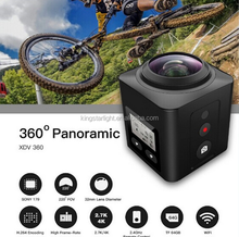 2016 Latest Waterproof helmet sport camera with full HD 1080P action camera digital