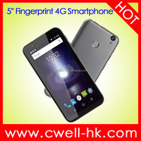 5 Inch IN-CELL Touch Screen Dual SIM 16GB ROM Fingerprint Unlock Android 6.0 Ultra Slim 4G latest mobile phone W&O W2