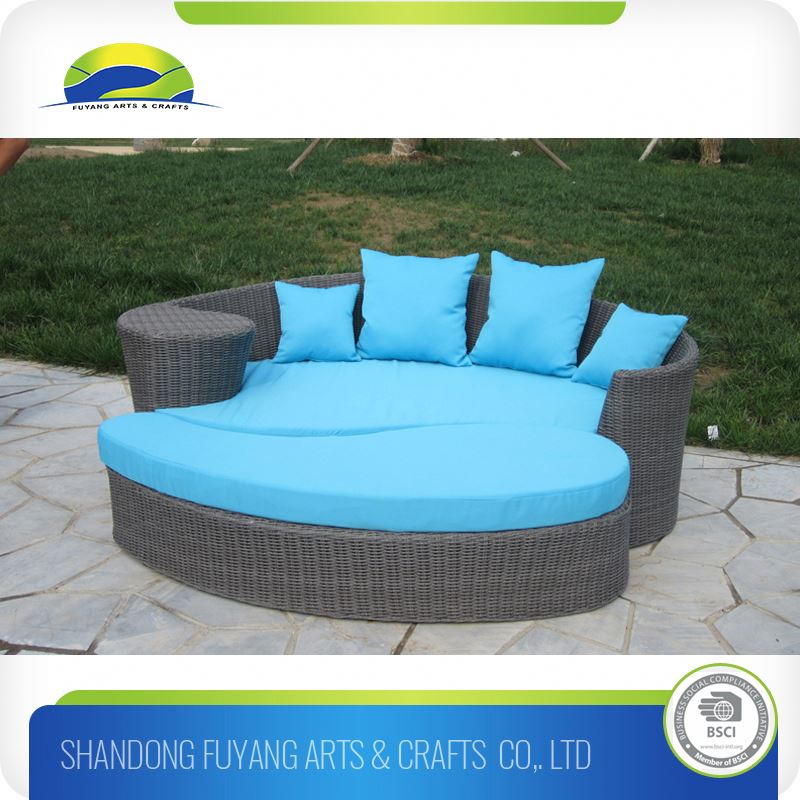 Rattan/Pool Wicker Sunbed /Leisure Lounge/Beach Chair