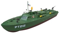 PT212 Patrol Torpedo Boat 1300GP gas powered rc warship models