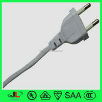 JUNLONG European standard AC Power Cord wire with EU Style Plug