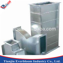 Galvanized steel rectangle flange duct air conditioning duct