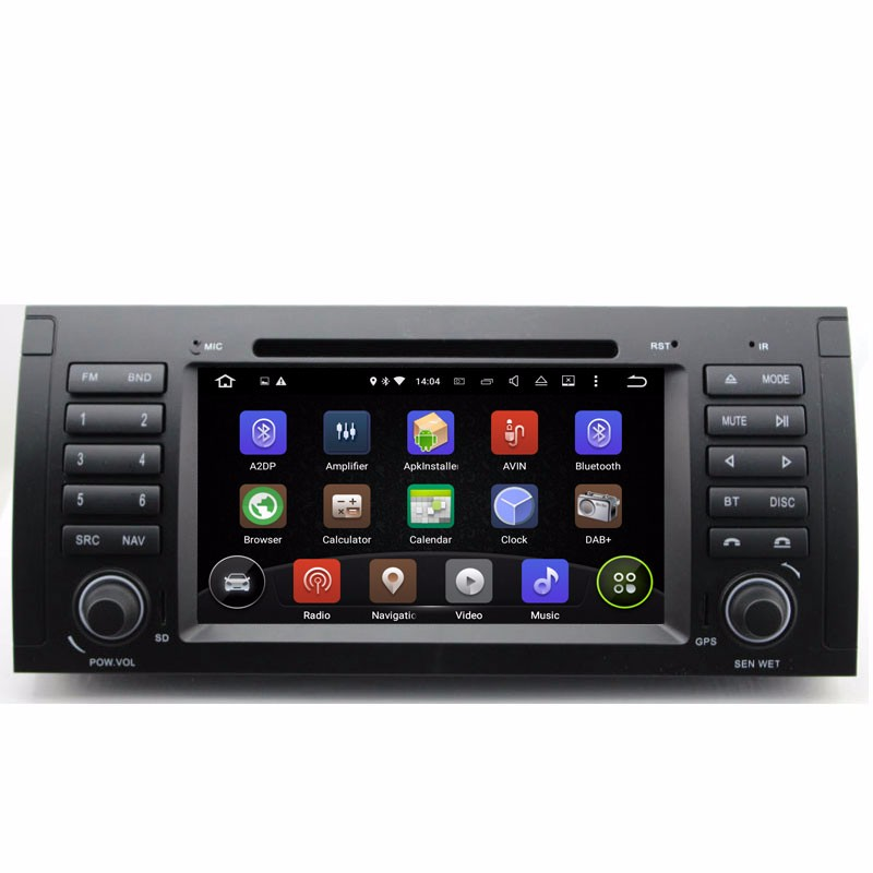 Aosino 2016 new special quad core 5.1.1 Car DVD for BMW E39 / M5 with GPS navigation