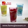 design color tumbler water glass cup