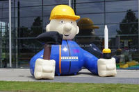 BOUWMAAT CUSTOM MADE INFLATABLE OBJECT