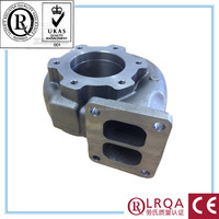 custom carbon WCB water pump spare parts motor parts accessories OEM lost wax investment stainless steel worm casting