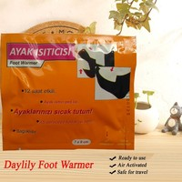 Daylily Feet Warmer - Portable & long-acting Adhesive Foot Patch for Feet Care Keep Feet Warm