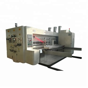 Automatic Corrugated Carton Box Making Machine , Corrugated Box Flexo Printing Machine