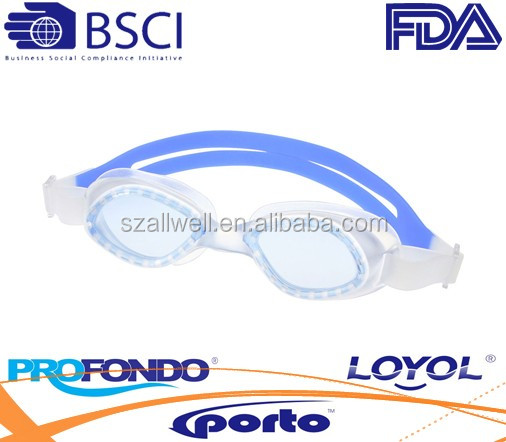 One piece injection TPE/PVC goggles with high waterproof performance