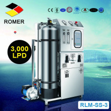 Factory price ro sea water treatment system/seawater desalination machine for boat
